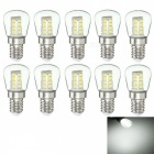 JRLED E14 3W 2835 26-LED Cold White LED Refrigerator Lamps (10pcs)