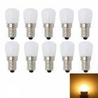 JRLED E14 3W 2835 26-LED Warm White LED Refrigerator Lamps (10pcs)