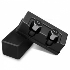 Eastor X1T Invisible True Wireless Bluetooth Earphone with Mic - Black