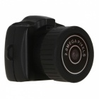 P-TOP Y3000 Mini 480P HD Video Camera DVR - Black
