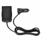BSTUO 7.2A 4-Port USB Car Charger with 1.8m Cable - Black