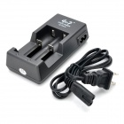 AC Battery Charger for 2x18650 / 17670 / 18490 / 17500 / 14430 / 14500 / 10440 (100V~240V / US Plug)