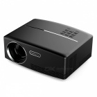 Vivibright GP80 Mini Portable Projector for Home Theatre - Black