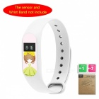 LOPBE HD Protective Film for Xiaomi Miband 2 Bracelet - Green Girl (D)