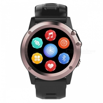 H1 IP68 Waterproof Bluetooth Smart Watch with 512MB, 4GB - Gold