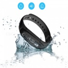 IP67 Vattentät Bluetooth V4.0 Smart Armband Fitness Tracker - Svart