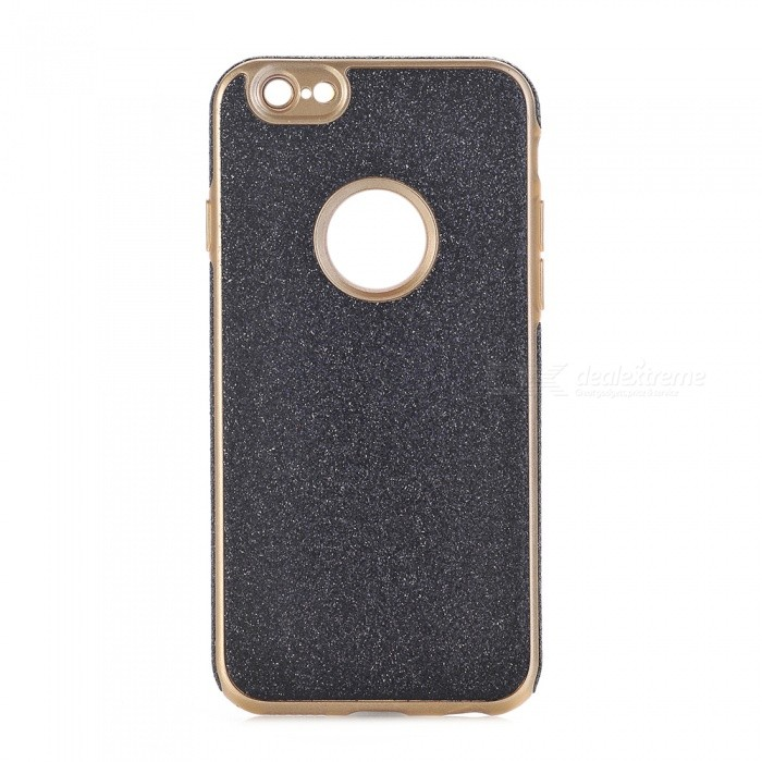 Shining Powder Decorated TPU Back Case for IPHONE 6, 6S - Black
