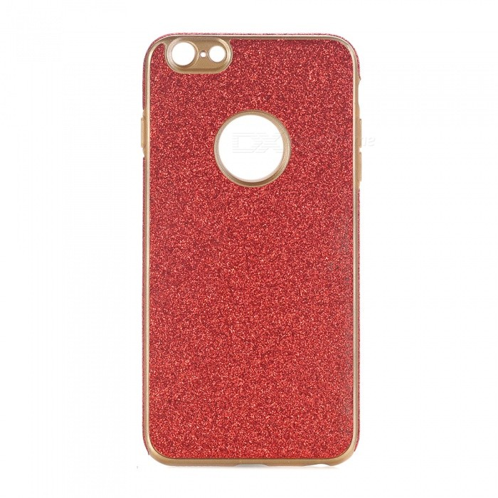 Shining Powder Decorated TPU Back Case for IPHONE 6 PLUS, 6S PLUS- Red