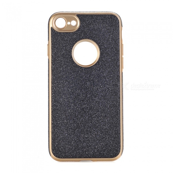 Shining Powder Decorated TPU Back Case for IPHONE 7 - Black