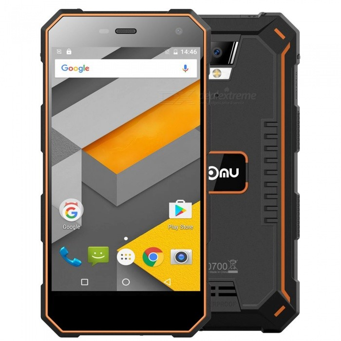 NOMU S10 Android 6.0 älypuhelin, 2 Gt: n RAM-muistia 16 Gt ROM - oranssi
