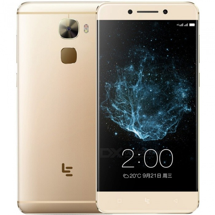 LETV Pro3 X722 Android 6.0 Smartphone med 4 GB RAM, 32 GB ROM - Gyllene
