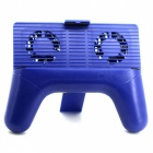 Handheld Game Controller Holder Cooler with Mobile Joystick - Blue