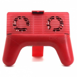 Handheld Game Controller Holder Cooler with Mobile Joystick - Red