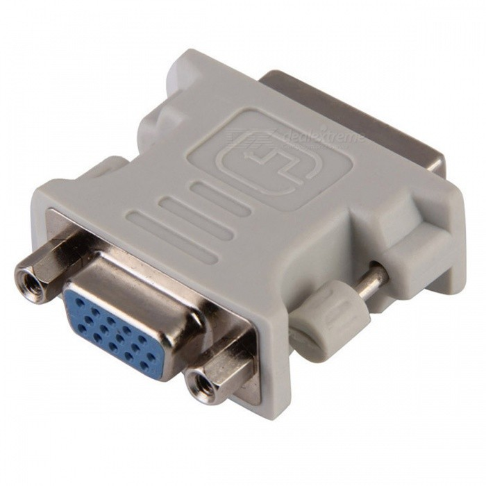 BSTUO DVI Male 24+5 Pin to VGA Female Adapter Video Converter