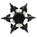 6-Aircraft Zinc Alloy Stress Relief Bearing Fidget Spinner - Black