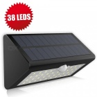 Wireless Waterproof Motion Activated Solar Energy 38-LED Home Office Security Light