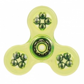 E-SMARTER Fidget Stress Relief Spinner Toy - Translucent Green