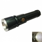 Ismartdigi S-002 Cold White Waterproof Zooming Flashlight with Battery