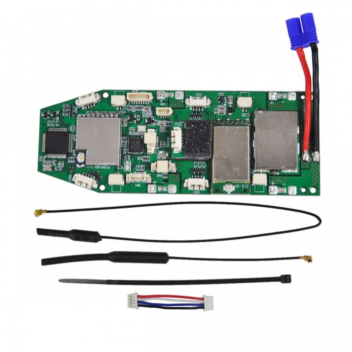 Hubsan H501A-02 RC Quadcopter Spare Parts Power Board for H501S H501AOther Accessories for R/C Toys<br>Form  ColorGreen + BlackModelH501A-02MaterialPCB + aluminum alloyQuantity1 pieceCompatible ModelH501S 501APacking List1 x Power board<br>
