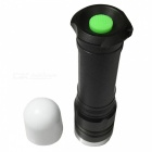 Ismartdigi 828 Cold White Waterproof Zooming Flashlight with Battery