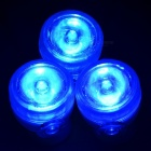 1-to-3 3W 470nm 110lm Blue Light LED Decorative Lamp for Fish Tank