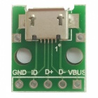Micro USB To DIP (2.54mm) Female B-Type Chip Adapter Board