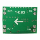 Super Mini DC-DC 3A Power Supply Step-Down Adjustable Module - Green
