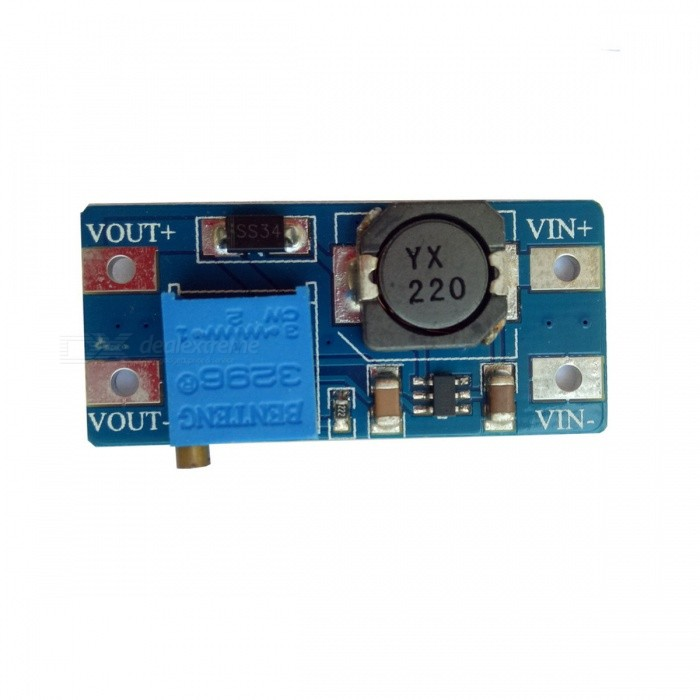 DC to DC 2A Power Supply Module Voltage Adjustable Booster Board