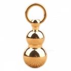 Stylish Pure Brass Copper Ring Keychain Pendant