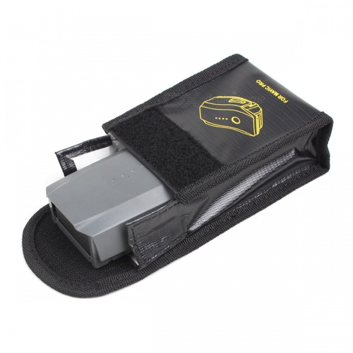 Fireproof Pc Case : Fireproof explosionproof safety battery storage bag case
