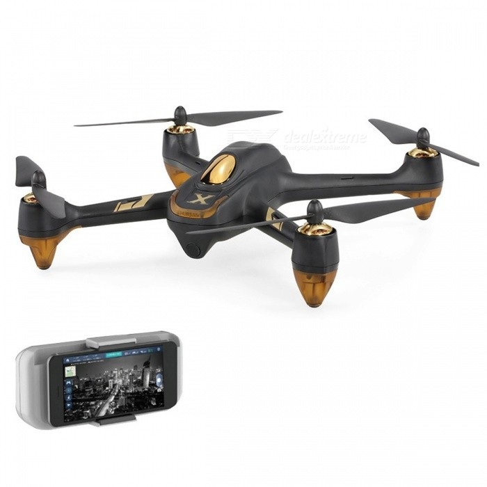 Hubsan H501A X4 Air Pro Wi-Fi FPV Drone Brushless RC QuadcopterR/C Airplanes&amp;Quadcopters<br>Form  ColorBlackModelH501AMaterialPlasticQuantity1 setShade Of ColorBlackGyroscopeYesChannels Quanlity6 channelFunctionUp,Down,Left,Right,Forward,Backward,Stop,Others,Wifi FPV, Headless mode, Low-voltage failsafe, Out of control failsafe, One key automatic return, One key takeoff/land, Point of interestRemote TypeOthers,Cell phone APP controlRemote control frequency2.4GHzRemote Control Range300 mSuitable Age Grown upsCameraYesCamera PixelOthers,1080PLamp YesBattery TypeLi-polymer batteryBattery Capacity2700 mAhCharging Time180 minutesWorking Time18~20 minutesRemote Controller Battery TypeOthers,Cell phone APP controlRemote Controller Battery NumberNot IncludedRemote Control TypeIPHONE or IPAD or IPODModelOthers,not IncludedPacking List1 x H501A Quadcopter1 x 7.4V 2700mAh LiPo Battery1 x Wi-Fi Signal Relay Booster4 x Spare Propellers1 x Charger Set (EU)1 x USB Charge Cable1 x Wrench1 x Set of English Manuals<br>