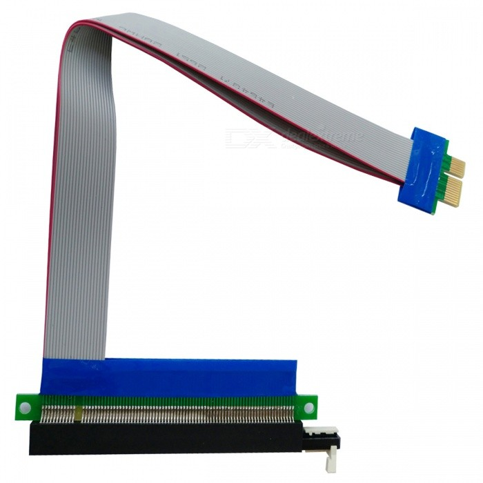 PCI-E1xTo16x Graphics Extension Soft -kaapeli (29 cm)