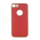 Shining Powder Decorated TPU Back Case for IPHONE 7 - Red