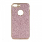 Shining Powder Decorated TPU Back Case for IPHONE 7 PLUS - Pink