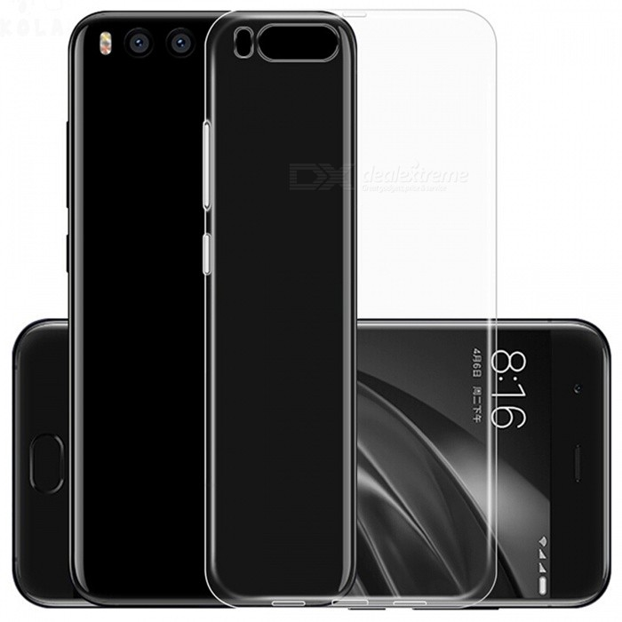 ASLING TPU Ultra-thin Soft TPU Back Case for Xiaomi 6 - TransparentTPU Cases<br>Form  ColorTransparentModelNoMaterialTPUQuantity1 pieceShade Of ColorTransparentCompatible ModelsXIAOMI 6Packing List1 x Protective case<br>
