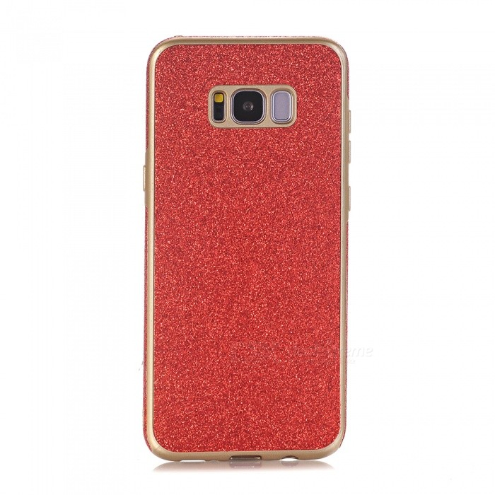 Ultra Slim TPU Phone Back Case for Samsung S8 Plus - Red