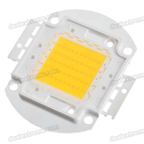 50W 3800lm Warm White Light LED Metal Plate Module (32~36V)