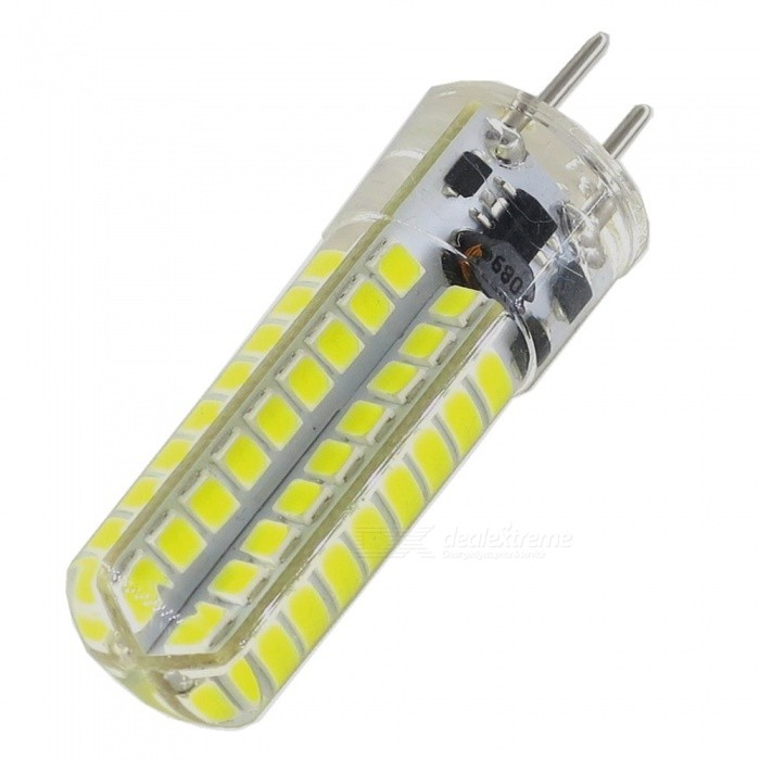 SZFC GY6.35 12V 5W LED Light Bulb Lamp Cold White 6000KOther Connector Bulbs<br>Color BINCold WhiteModelGY6.35-72L-WMaterialPCBForm  ColorWhiteQuantity1 DX.PCM.Model.AttributeModel.UnitPower5WRated VoltageOthers,AC DC-12 DX.PCM.Model.AttributeModel.UnitConnector TypeOthers,GY6.35Chip Type2835 SMDEmitter TypeLEDTotal Emitters72Theoretical Lumens500 DX.PCM.Model.AttributeModel.UnitActual Lumens350 DX.PCM.Model.AttributeModel.UnitColor Temperature6000KDimmableNoBeam Angle360 DX.PCM.Model.AttributeModel.UnitPacking List1 x LED lamp<br>
