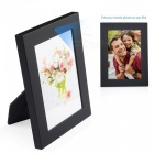 720P HD Easy-Use Photo Frame Hidden Camera with 16GB Memory - Black