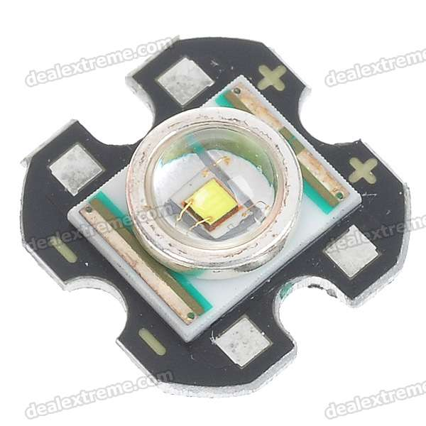 235LM LED Emitter w/ CREE Q5-WC / 16mm Base