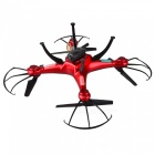 LIDIRC L15 Wi-Fi FPV 4-CH RC Quadcopter with 720P HD Camera - Red