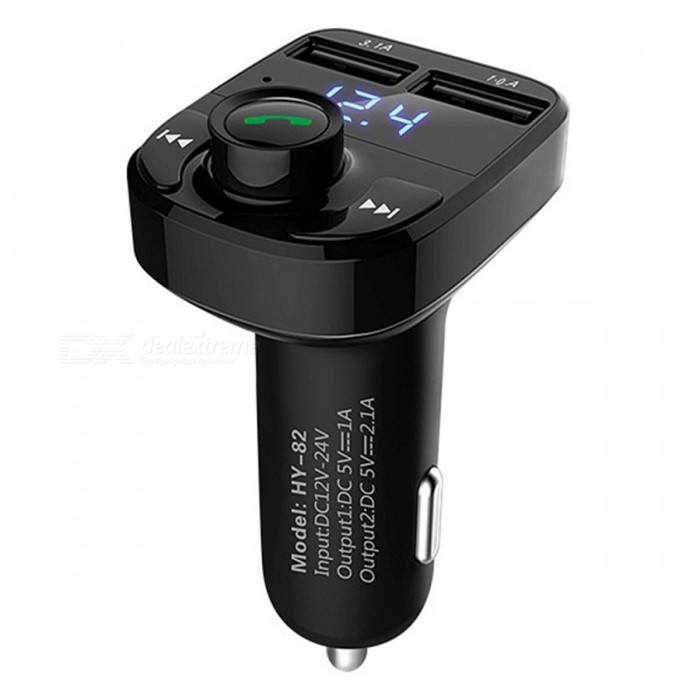 Hands-free Car Charger, Bluetooth FM Transmitter, Music Adapter