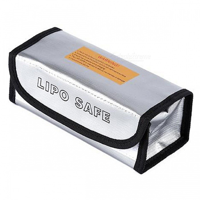 ENGPOW Explosion-proof Lipo Battery Safe Bag (185 x 75 x 60mm)