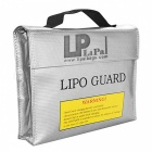 ENGPOW 240x65x180mm Fireproof Explosion-Proof Lipo Battery Bag -Silver
