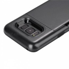 Premium PC, TPU Case with Card Slot for Samsung Galaxy S8 - Black
