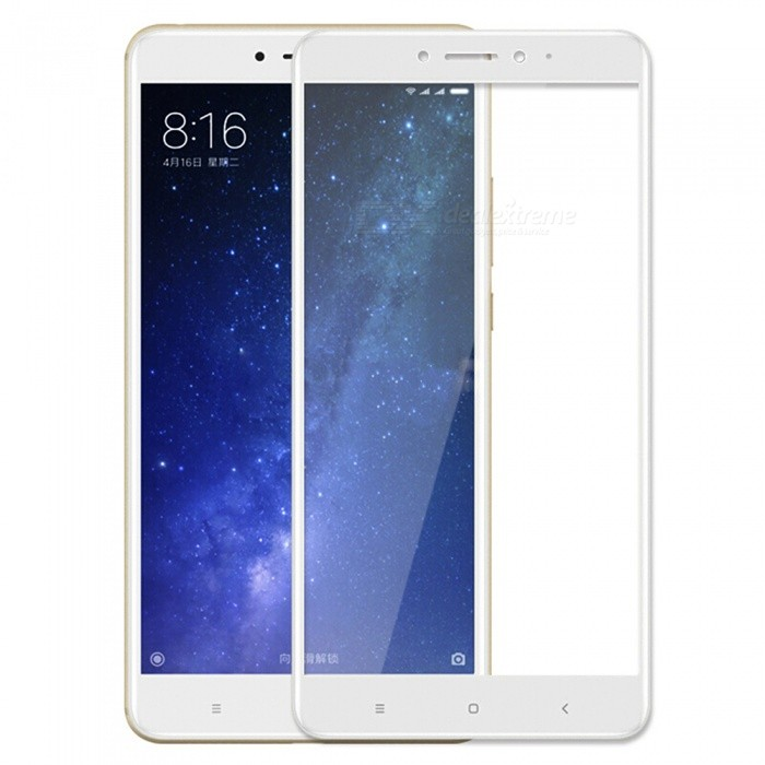 ASLING Tempered Glass Full Cover Film for Xiaomi Max 2 - White
