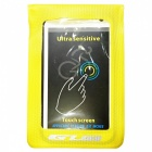 "GUB 919 Bike Waterproof Touch Screen Phone Bag for 6"" Phone - Yellow"