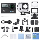 20MP 1080P 4K Wi-Fi Sports Action Camera with Gyroscope - Black