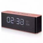 Portable led display bluetooth 3.0 speaker with alarm clock, fm