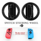 GameWill joie-Con Wheels pour Nintendo Switch Controller-Noir (2PCS)